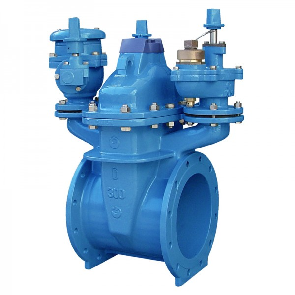Various Application Type Resilient Seated Gate Valves