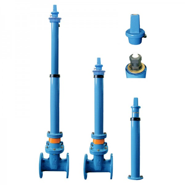 Extension Splindle Type Resilient Seated Gate Valves
