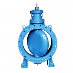Center Cap Type Metal Seated Butterfly Valves